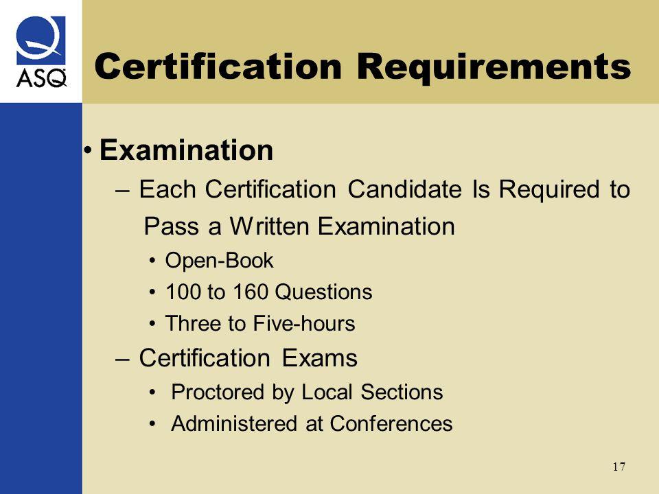 Certification Handbook ASQ - mandegar.info