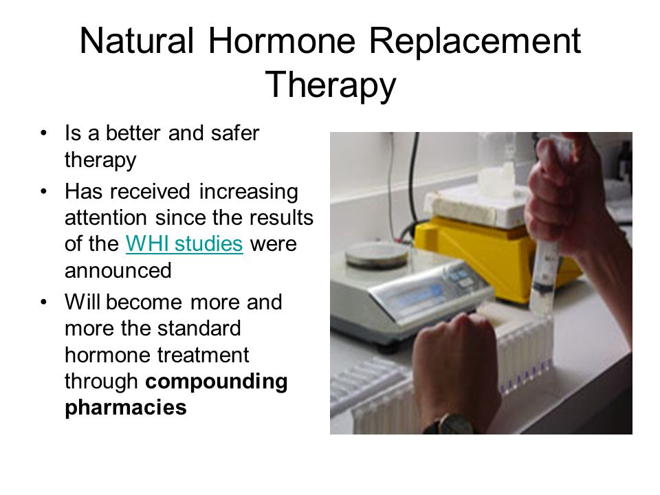 natural hormone replacement for weight loss