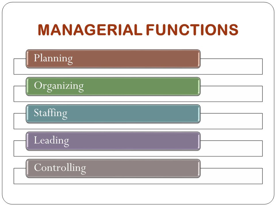 5 Main Functions of Management According to Henry Fayol