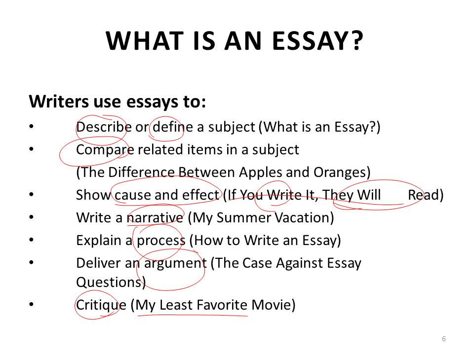 subject essay Limited in subject essay an