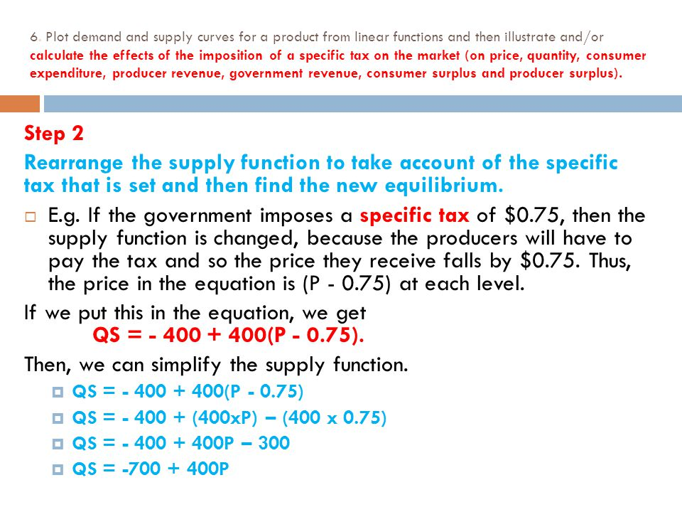 how to write a function of consumer surplus