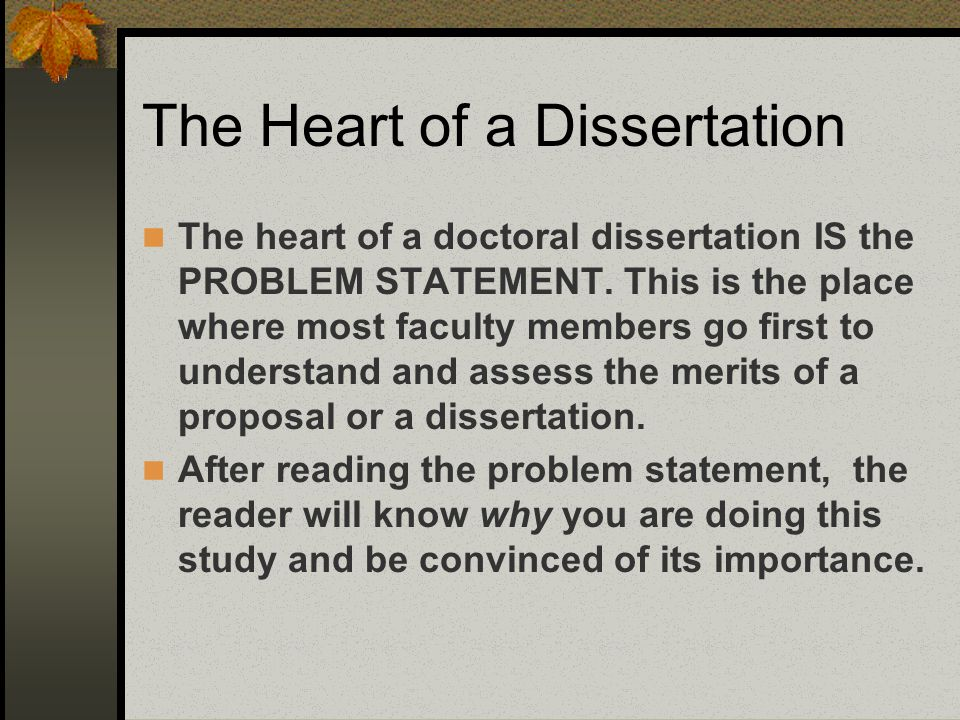 Plain talk about your dissertation proposal