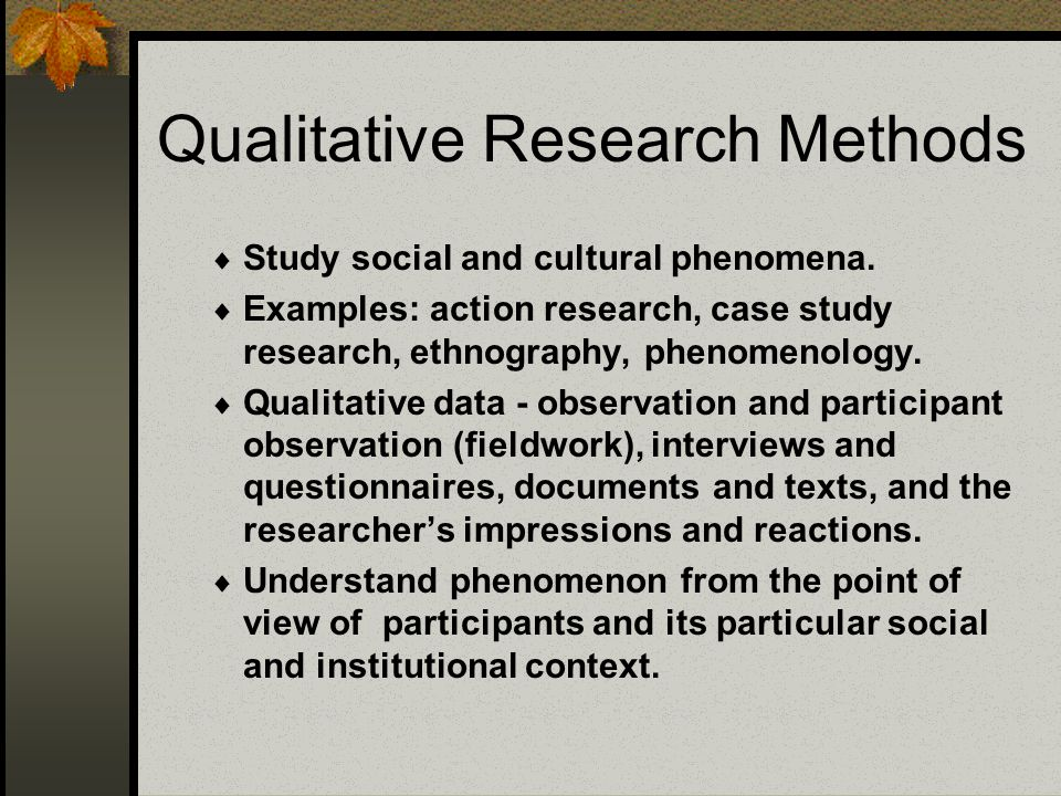 qualitative research case study method Qualitative research methods in computer science edwin blake qualitative research in cs 13 case studies i focuses on the characteristics, circumstances, and.
