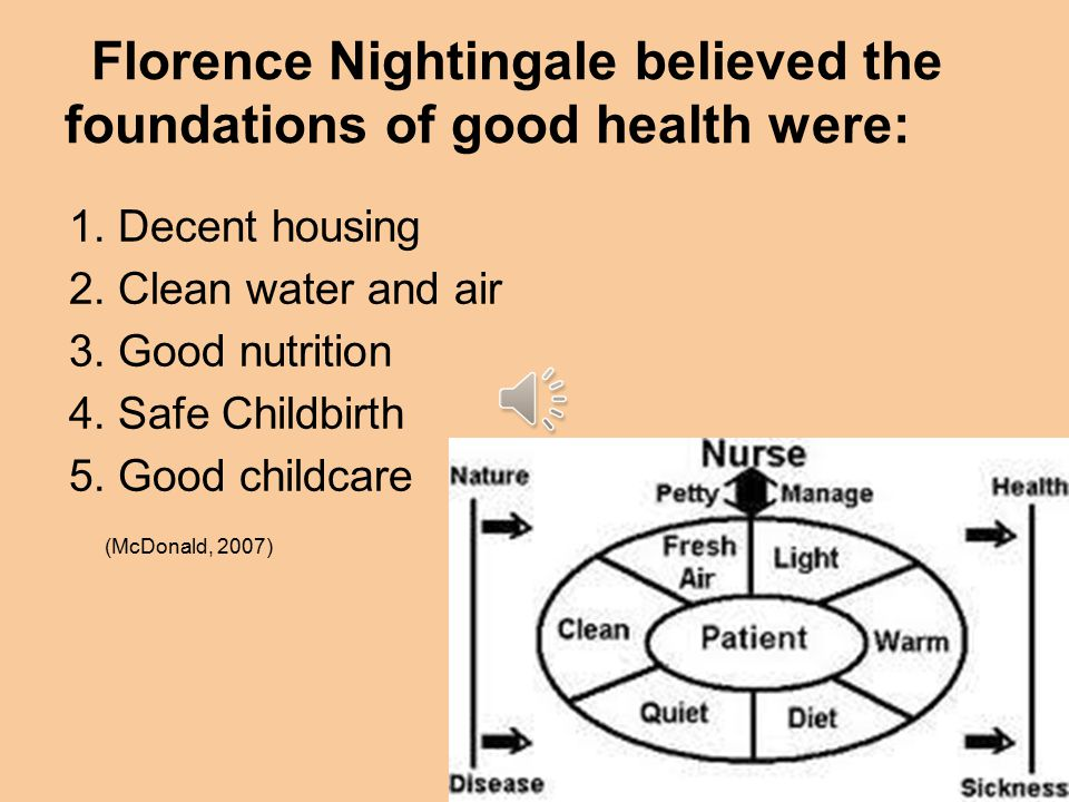 florence nightingale theory on nutrition and metabolism Lynn mcdonald, phd lld (hon), is professor emerita, university of guelph, ontario, canada, and editor of the 16-volume collected works of florence nightingale all peer-reviewed, along with numerous publications on sociological theory, women theorists, political sociology, criminology and the history of ideas.