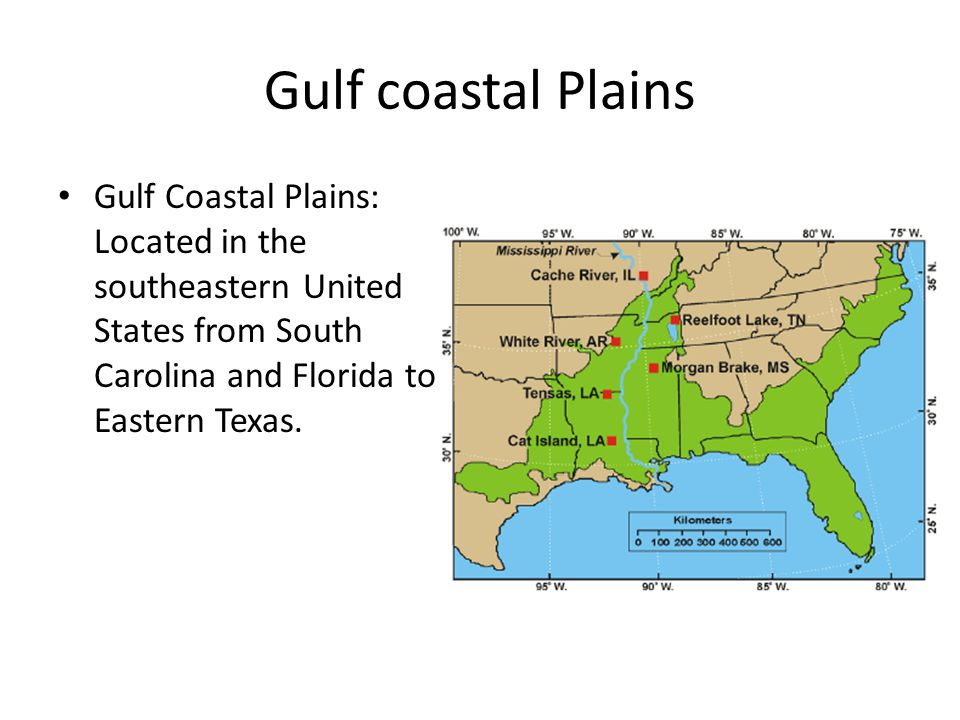 Geography Of United States Ppt Video Online Download - Coastal plains on us map
