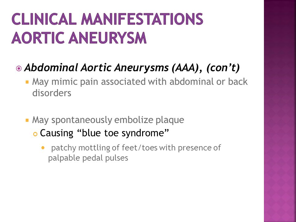 AORTIC ANEURYSM. - ppt video online download