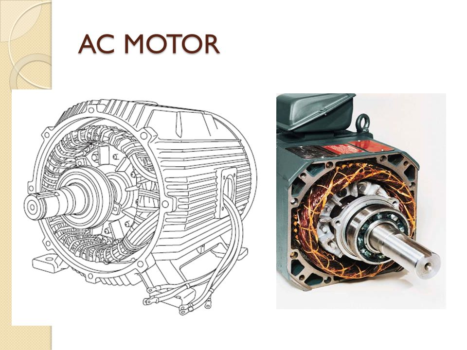 Ac Motor Induction Motor Ppt Video Online Download