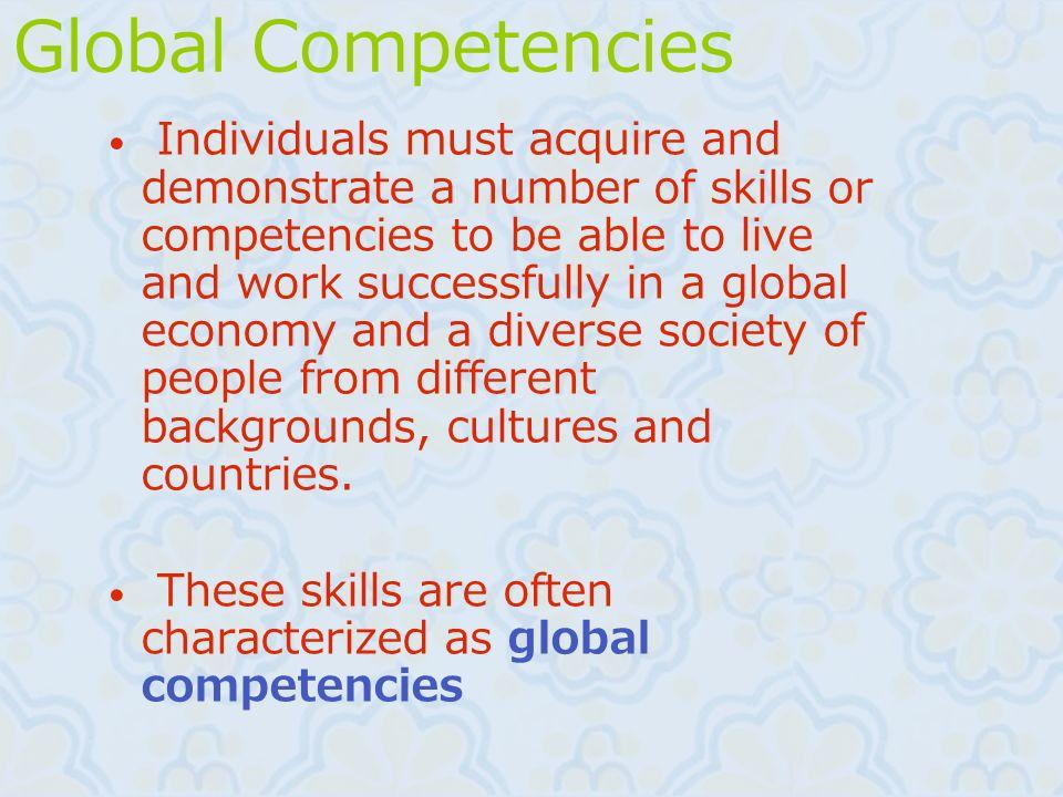 Global Competencies