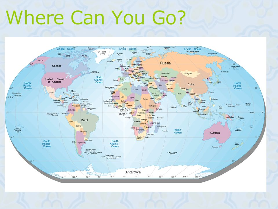 Where Can You Go