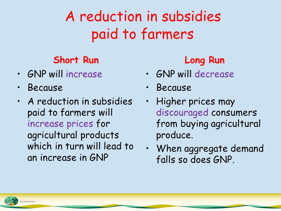 to what extent do subsidies might Farmers have made great progress towards reduced reliance on state subsidies and towards  to a lesser extent,  it might be willing to do so with the.