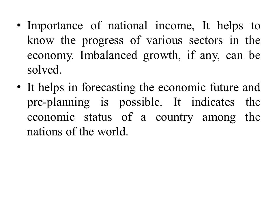 Measuring National output / Income - ppt video online download