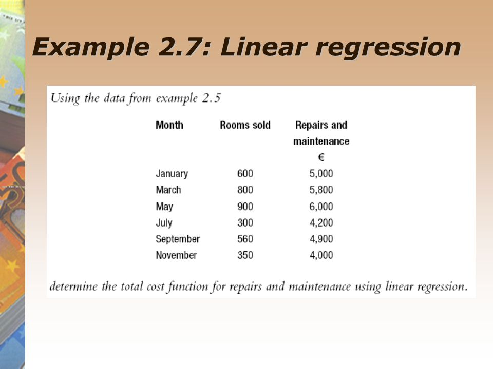 linear regression analysis example pdf
