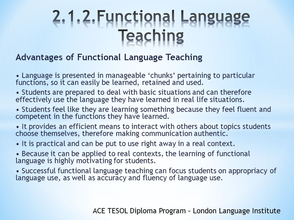 teaching chunks of language pdf