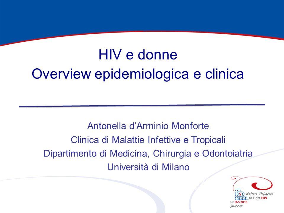 Overview epidemiologica e clinica