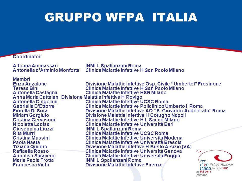 GRUPPO WFPA ITALIA Coordinatori