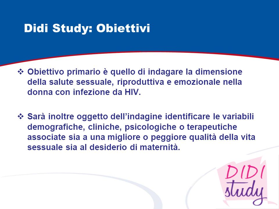 Didi Study: Obiettivi