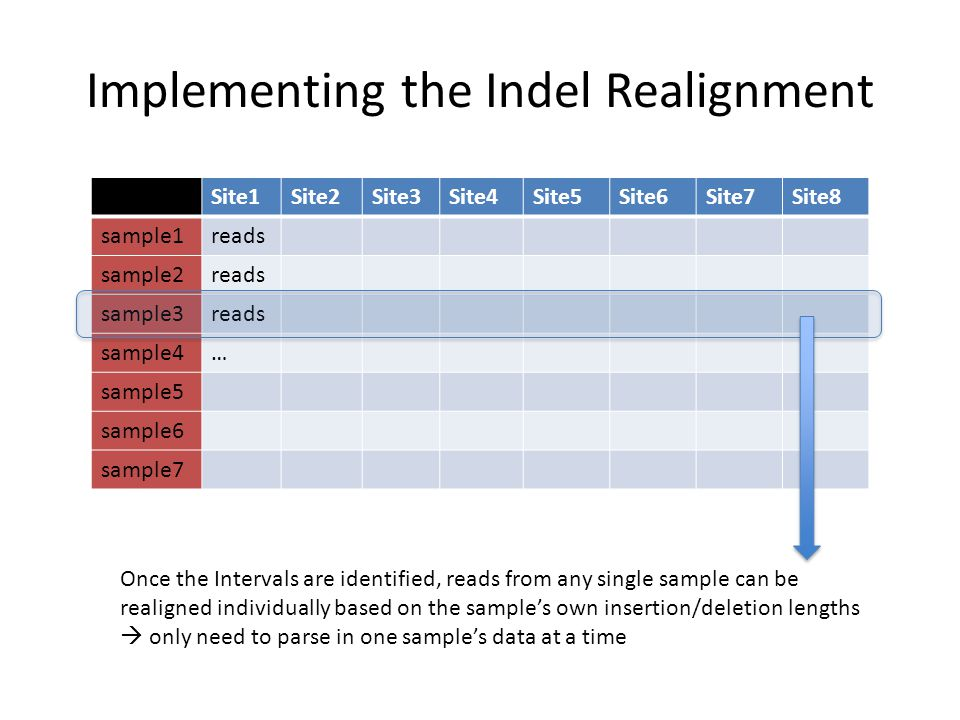 Implementing the Indel Realignment