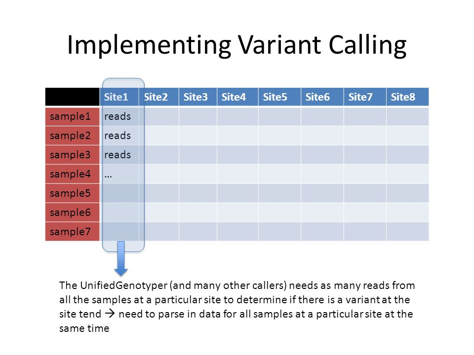 Implementing Variant Calling