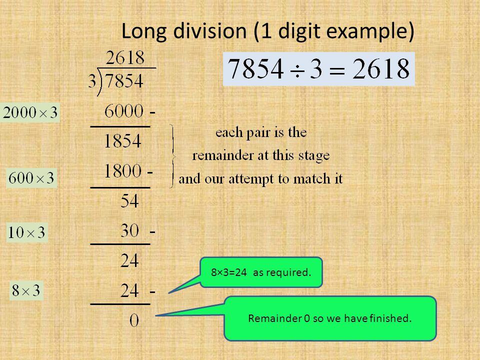 Long Multiplication Long Division Ppt Download