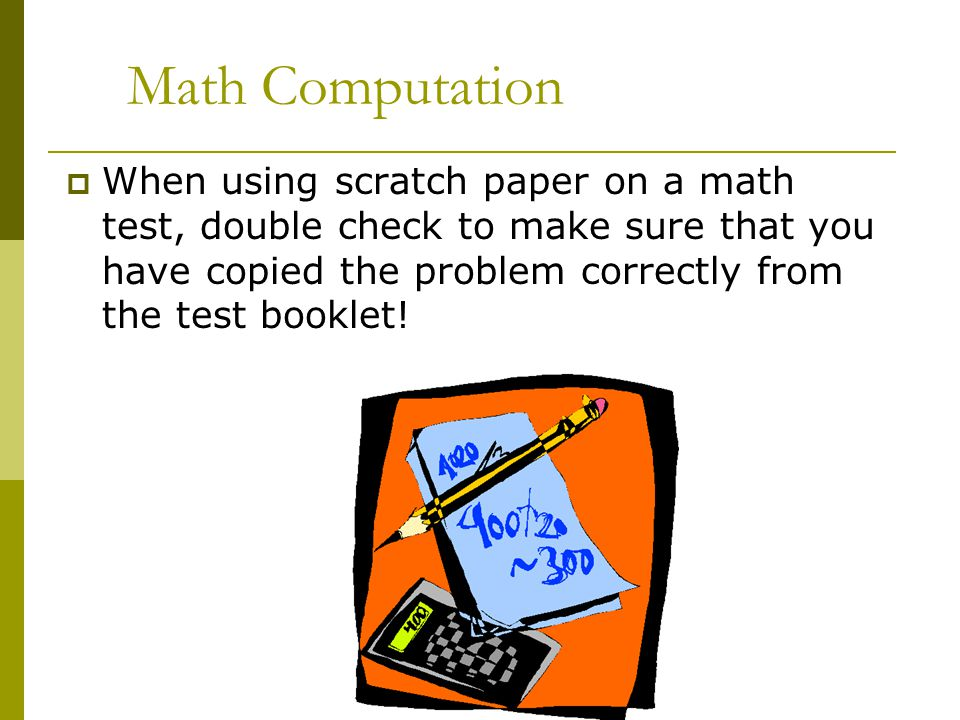 Wyncote Elementary School Test Taking Tips - ppt video online download