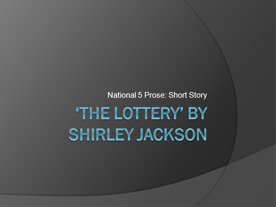 critical essays on the lottery by shirley jackson