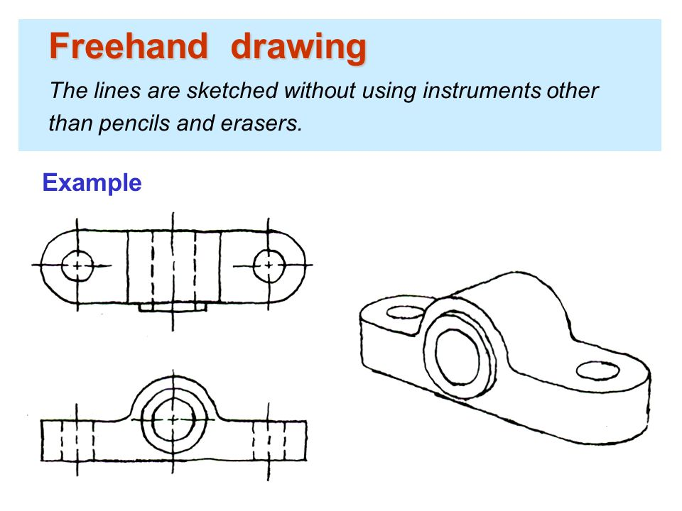 Drawing Lines Freehand : Engineering drawing basics ppt video online download