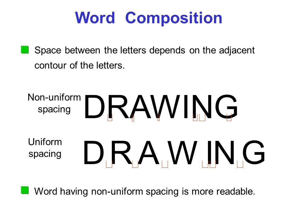 how to make more space between letters in word