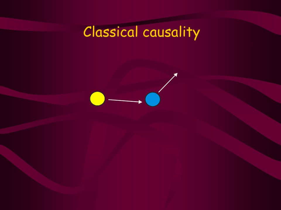 Classical causality