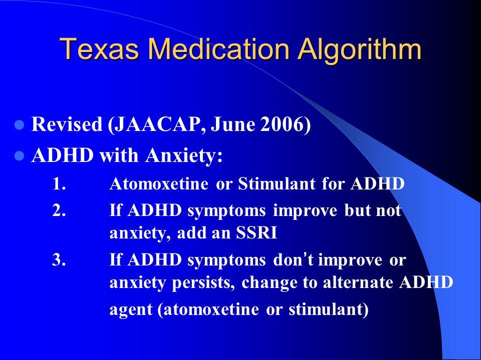 Aha and adhd medications