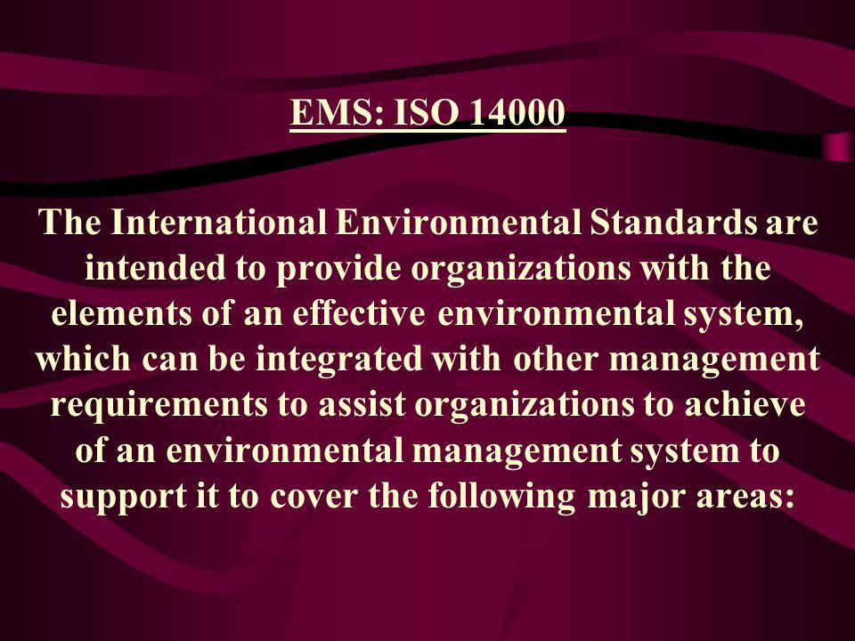 EMS: ISO 14000
