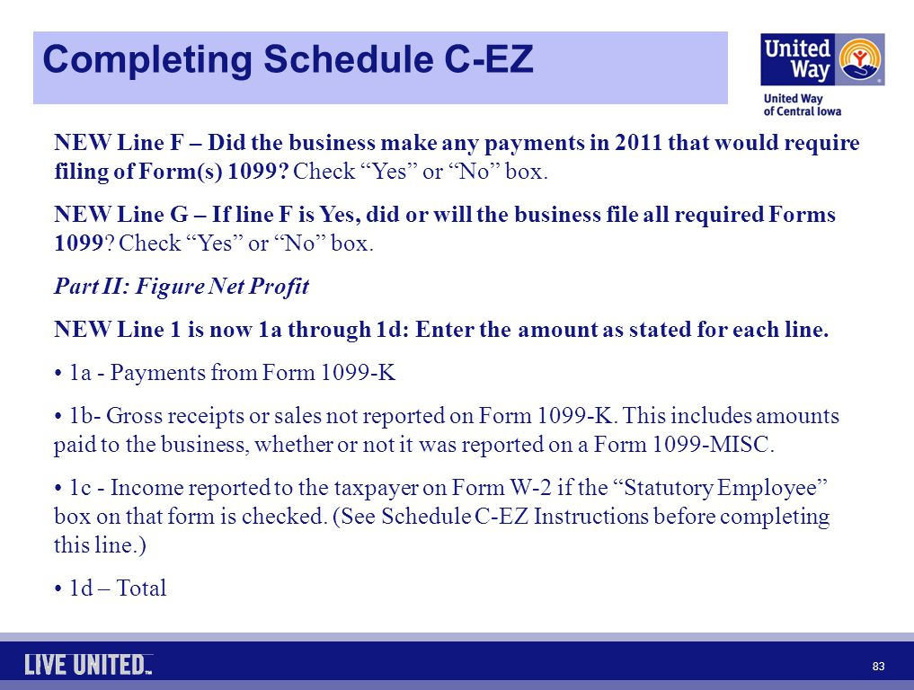 Schedule C Form Who Can Use Form Schedule Cez Rushmore Tax Income