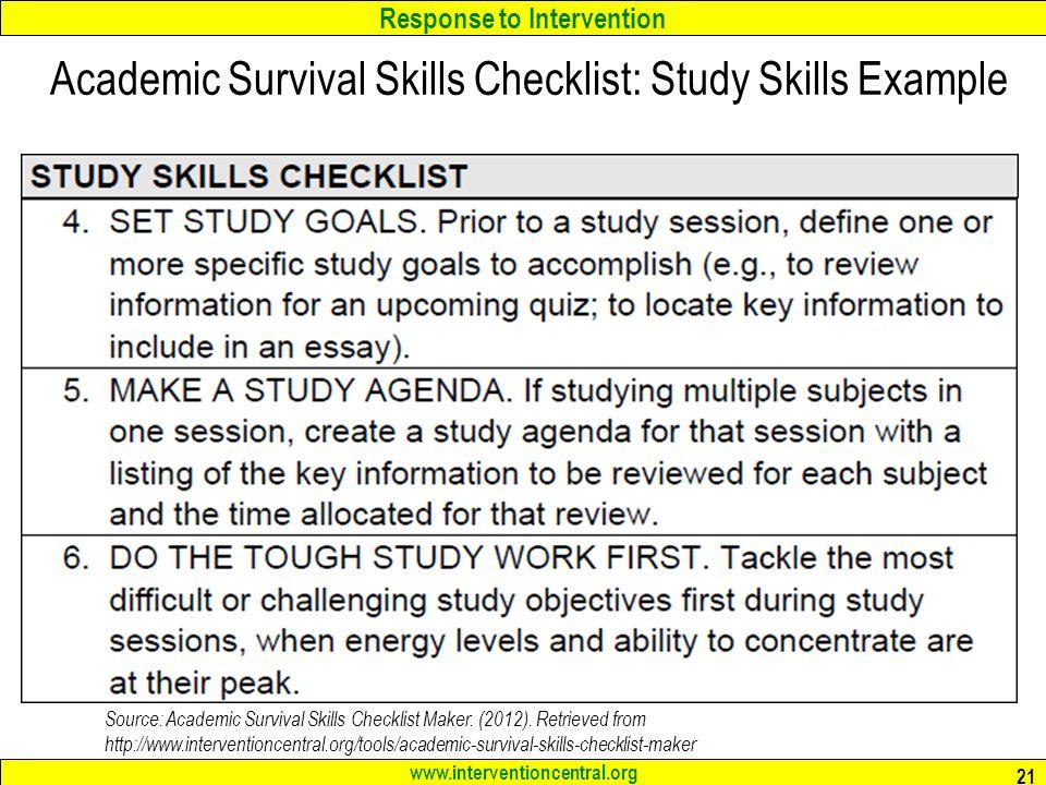 5 key skills for academic success | Parenting