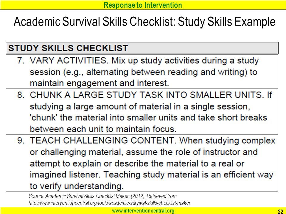 5 key skills for academic success