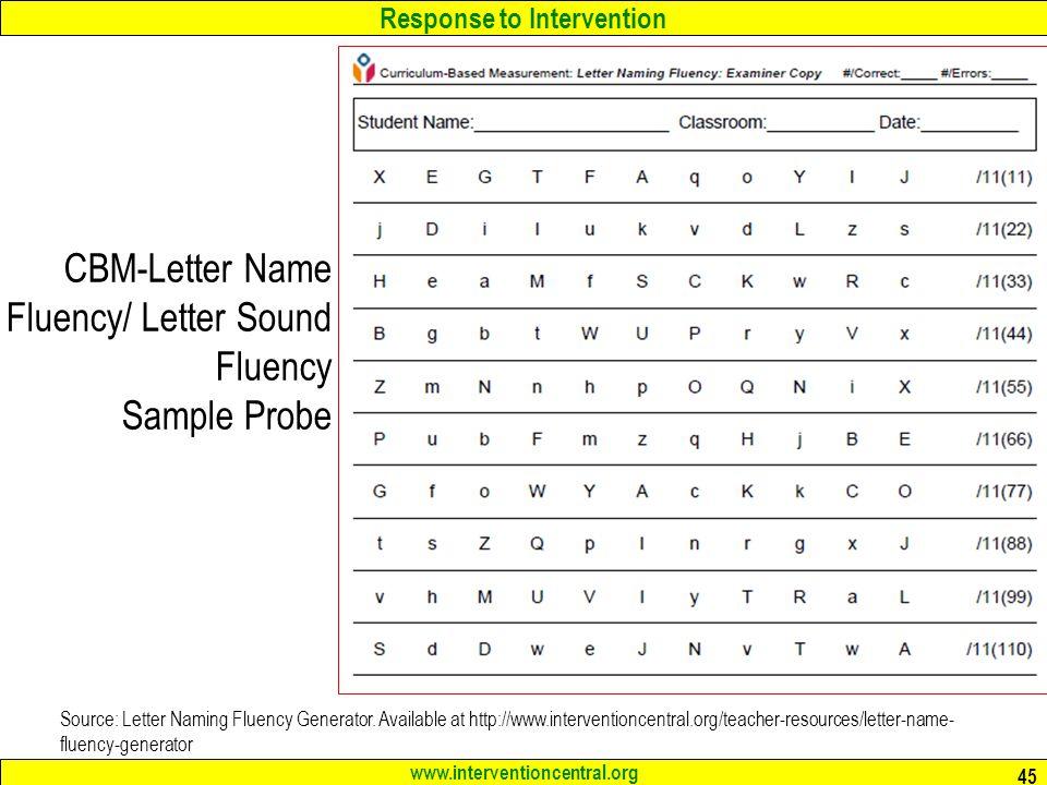 RTI: Schoolwide Screening Tools & Classroom Data Collection Jim ...
