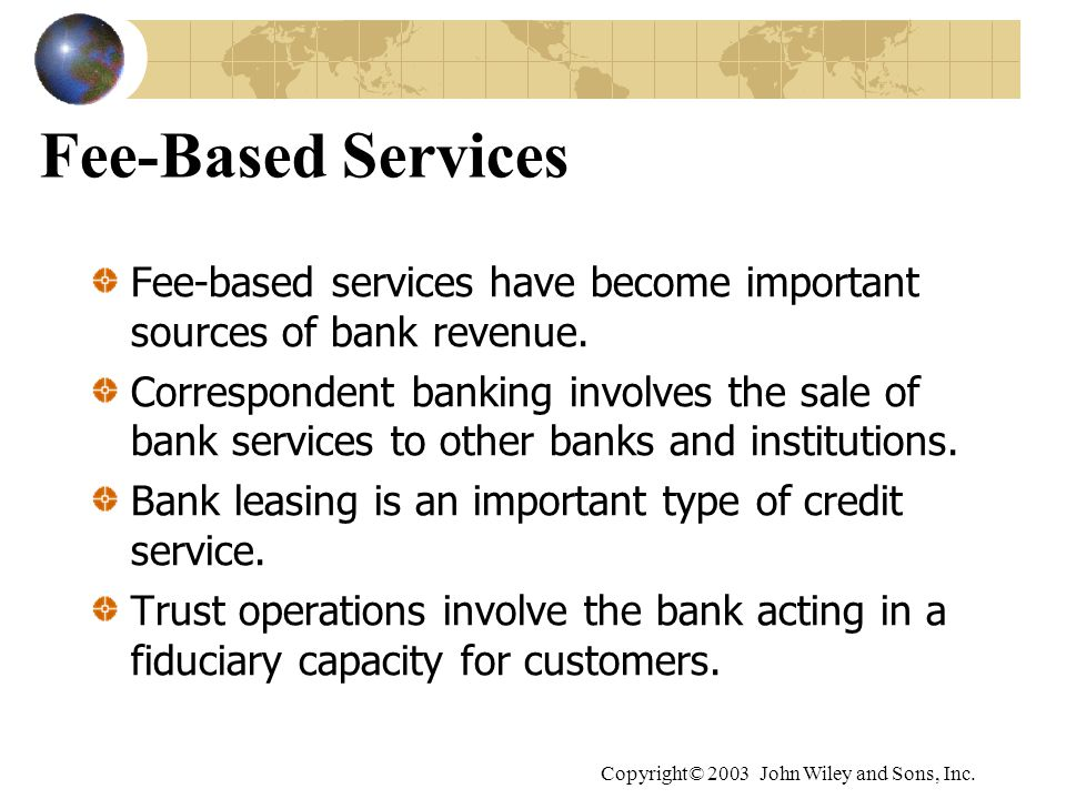 sources of a banks income We look at four of the top ten us banks and attempt to extract their basic strategies for generating income and revenue here's what we found.