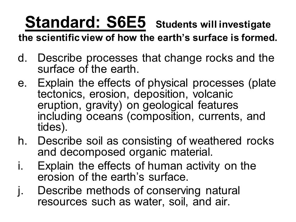 Weathering erosion and soil formation ppt download for Describe soil