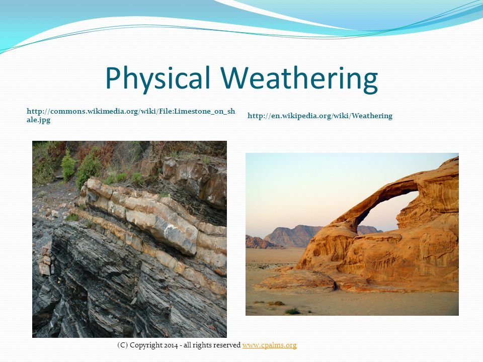 Chemical /Physical Weathering - ppt video online download