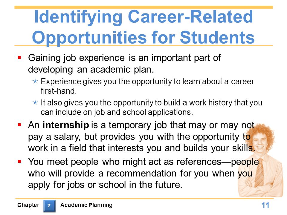 Identifying Career-Related Opportunities for Students
