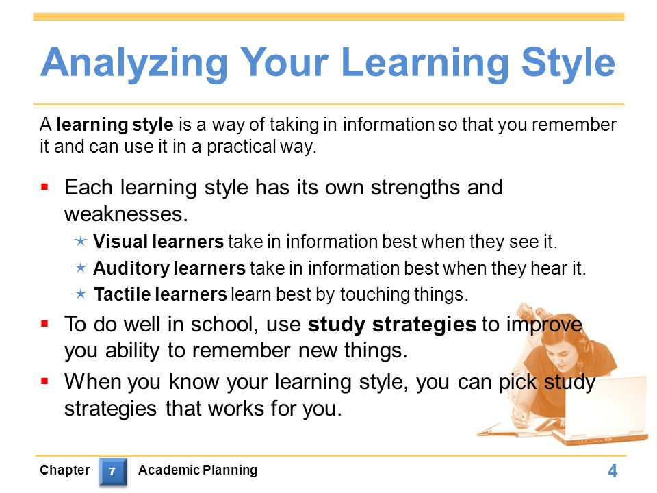 Analyzing Your Learning Style