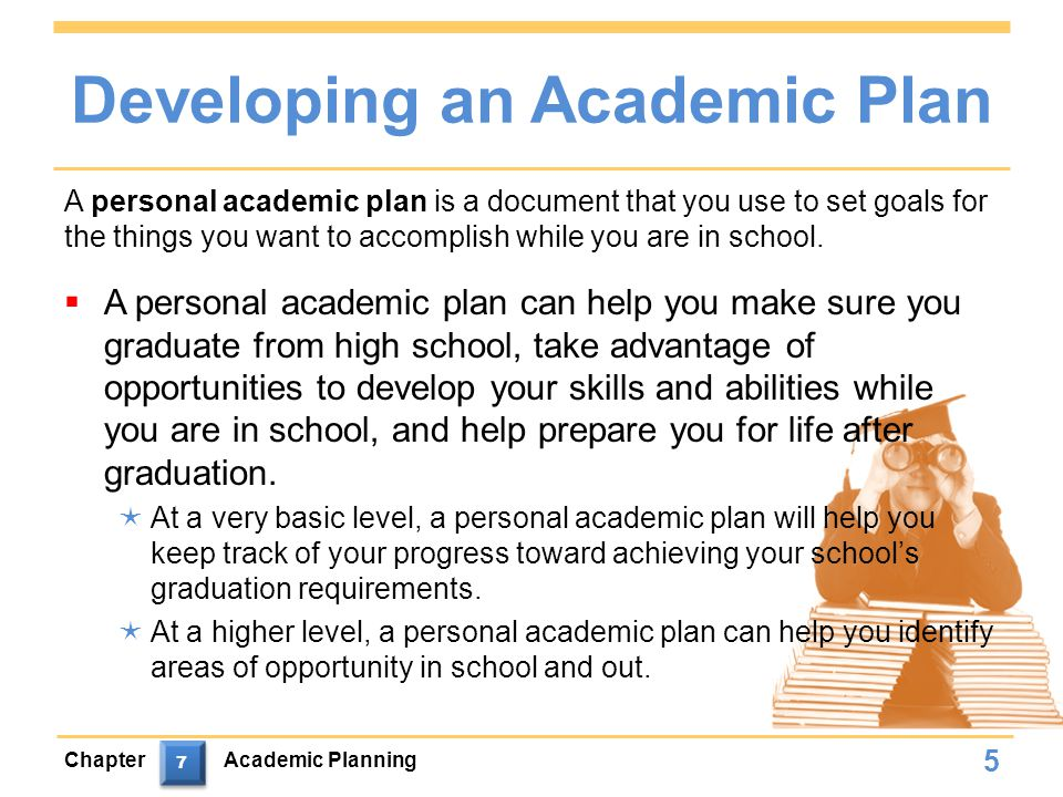 Developing an Academic Plan