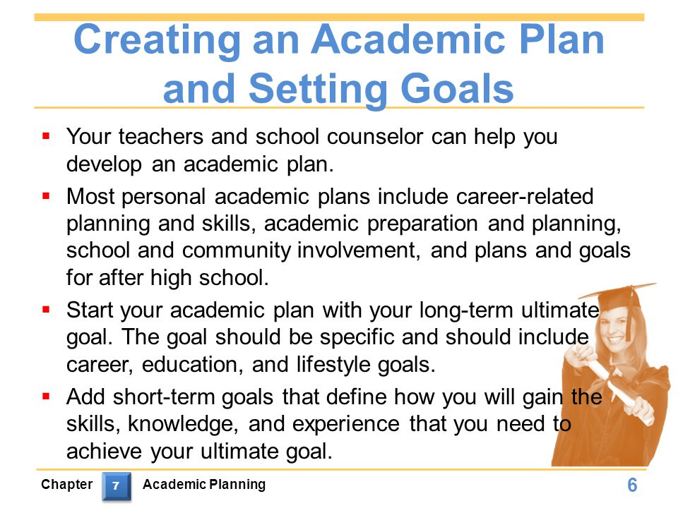Creating an Academic Plan and Setting Goals