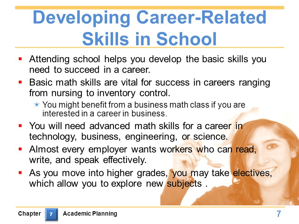 Developing Career-Related Skills in School