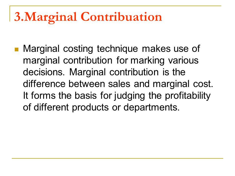 3.Marginal Contribuation