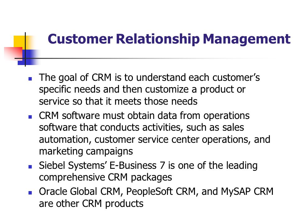 customer relationship management software supply and demand