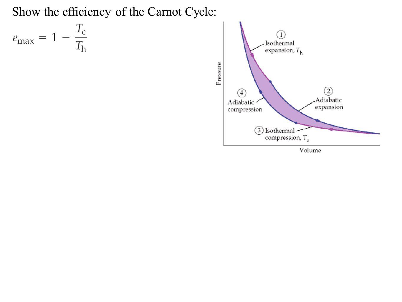 maximum efficiency of heat engine carnot