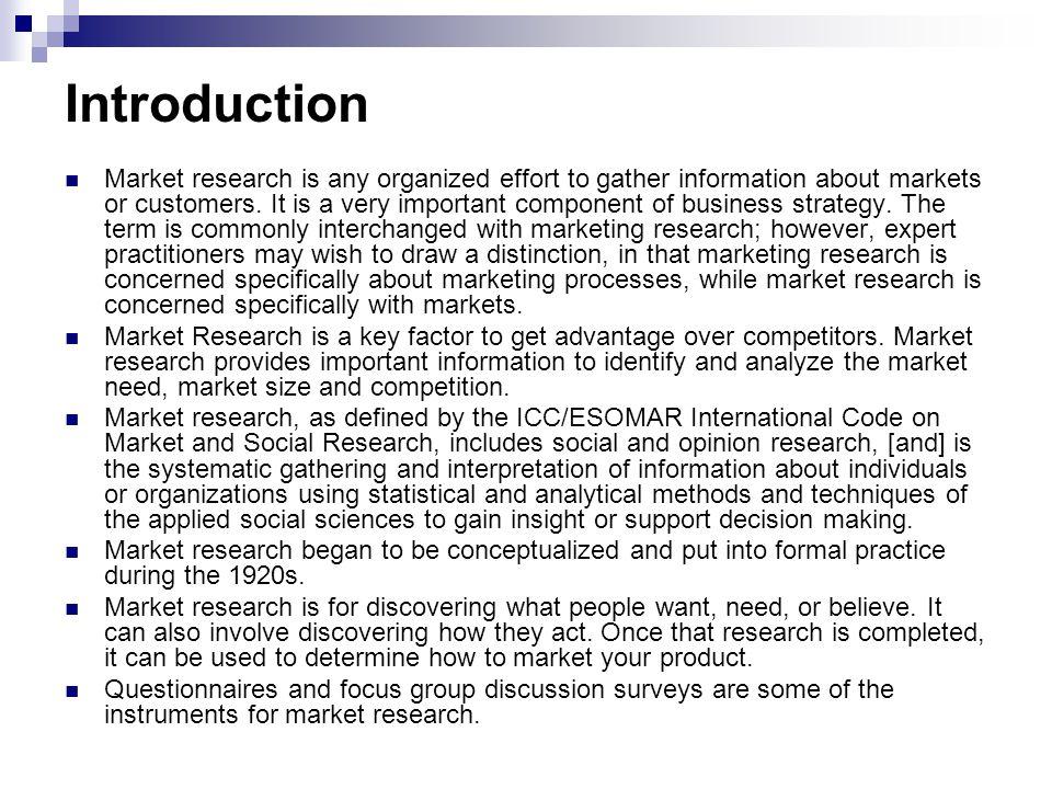 Target Market Identification