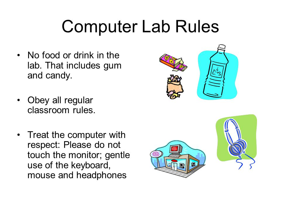 1 Computer Lab Rules