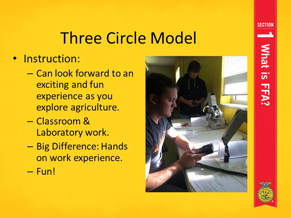 Three Circle Model Instruction: