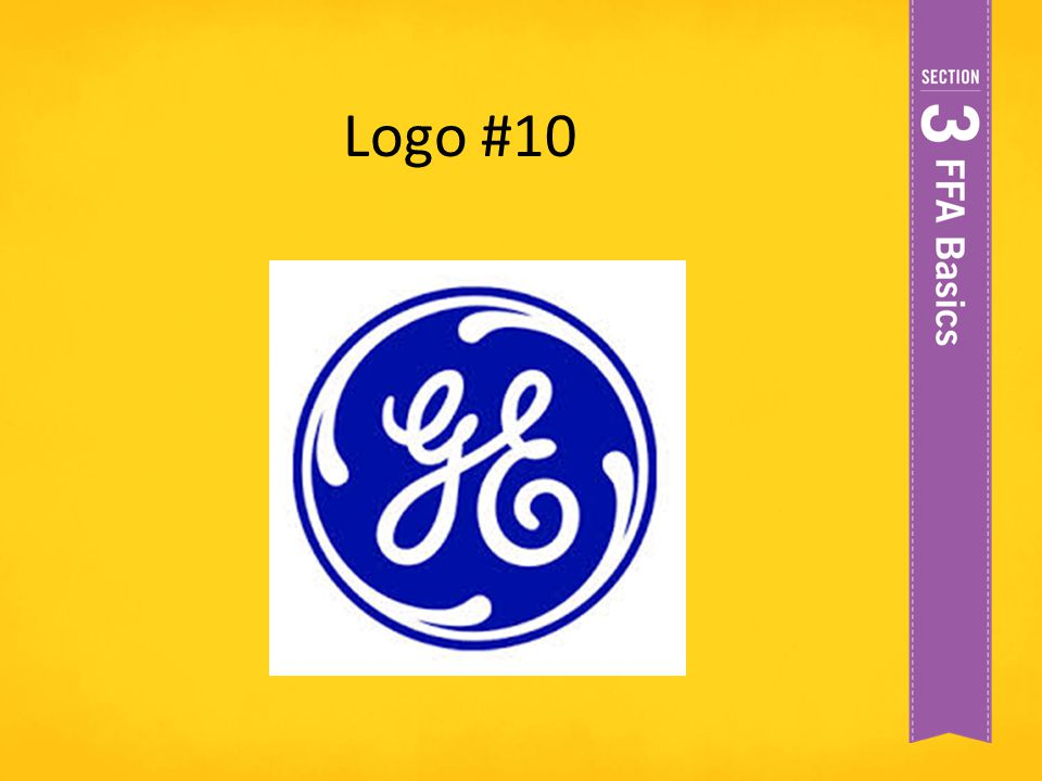 Logo #10 General Electric