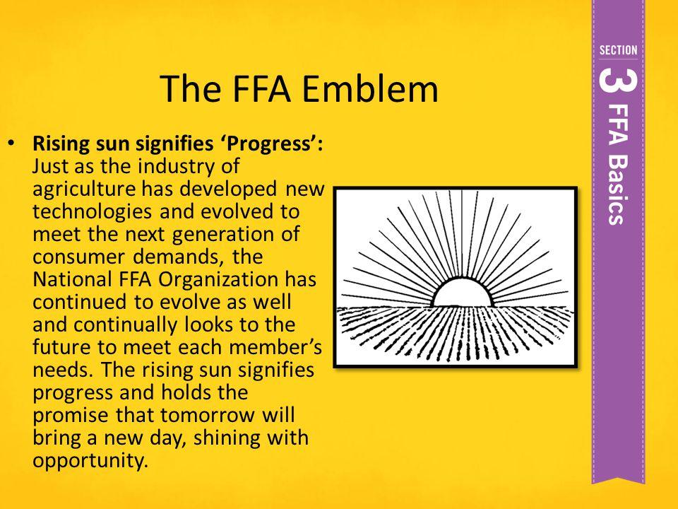 The FFA Emblem